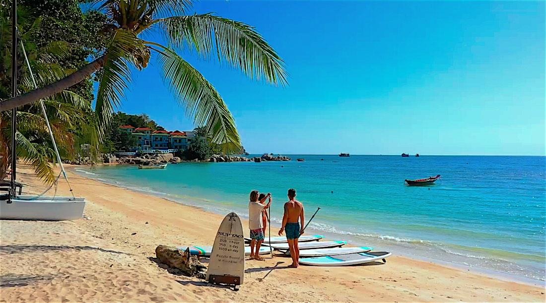 Amazing Paddleboarding Koh Tao Thailand