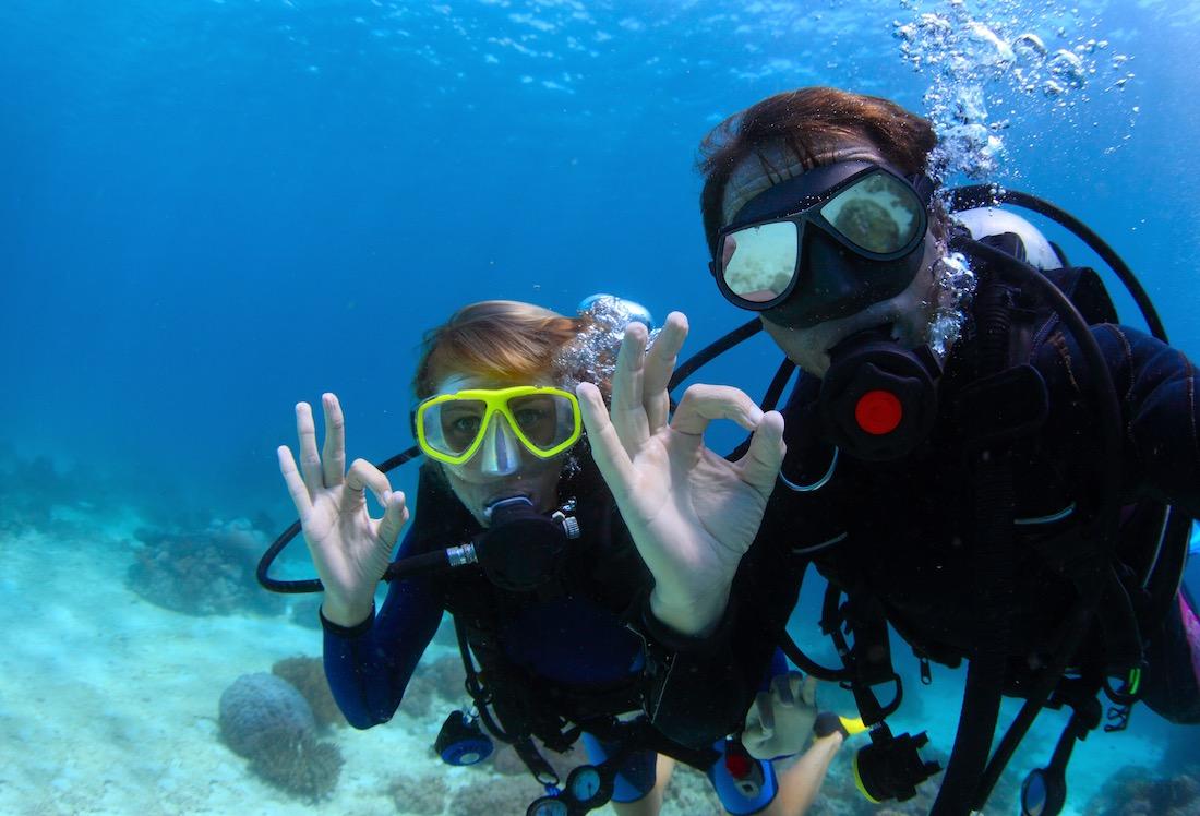 PADI Discover Scuba Diving Koh Tao