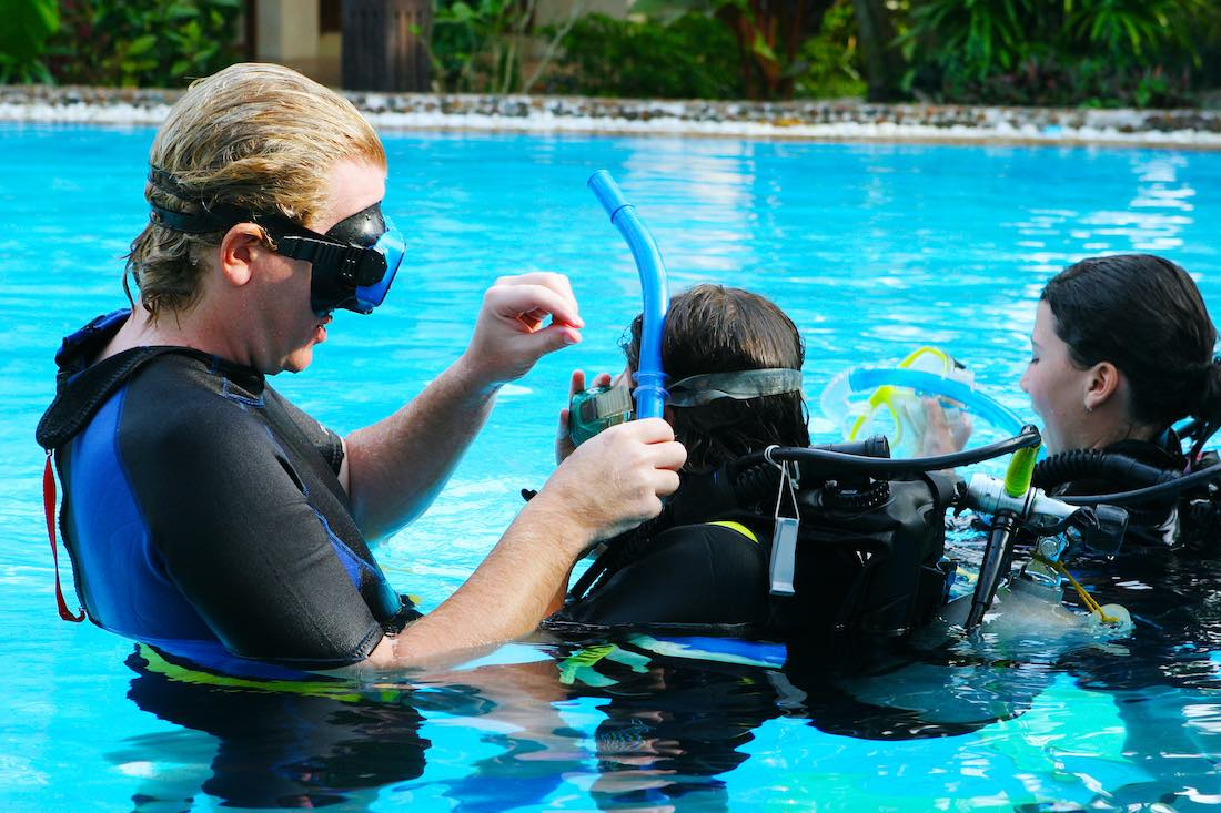 PADI Bubblemaker for Kids Koh Tao
