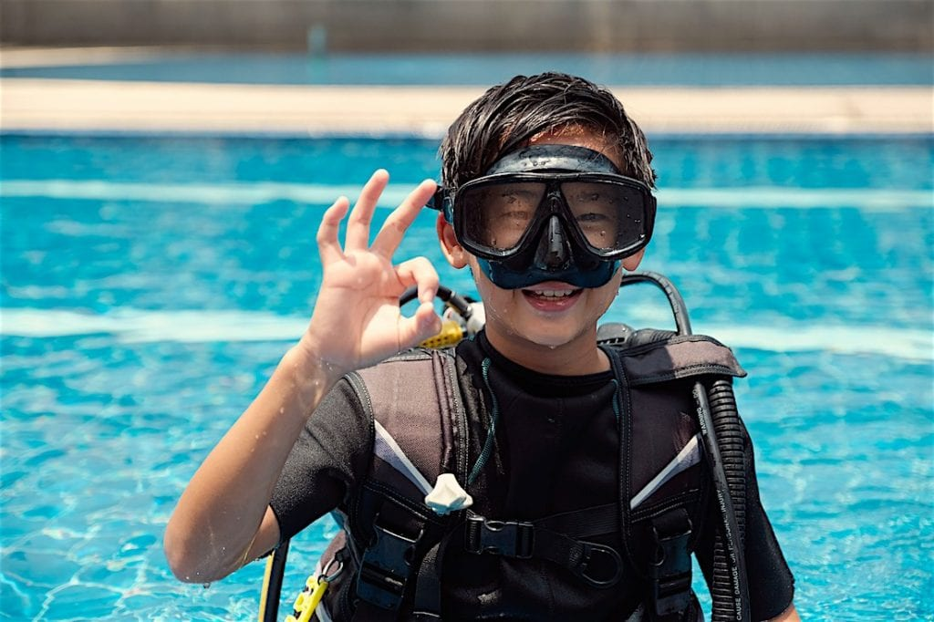 PADI Bubblemaker Experience for Kids Koh Tao