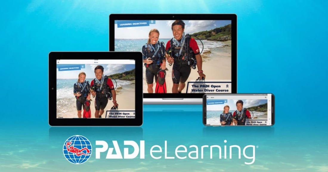 PADI E-Learning Koh Tao