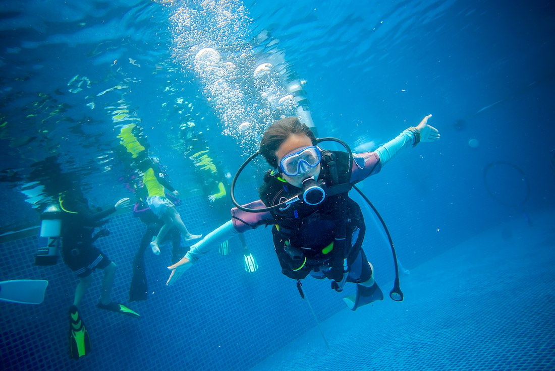 PADI Junior Open Water Course Koh Tao for Kids