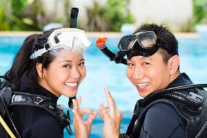Open Water Diver Koh Tao Students