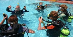 PADI Seal team Underwater Adventures for Kids Koh Tao