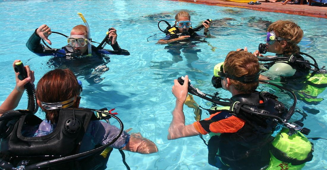 PADI Seal team Underwater Adventures for Kids Koh Tao