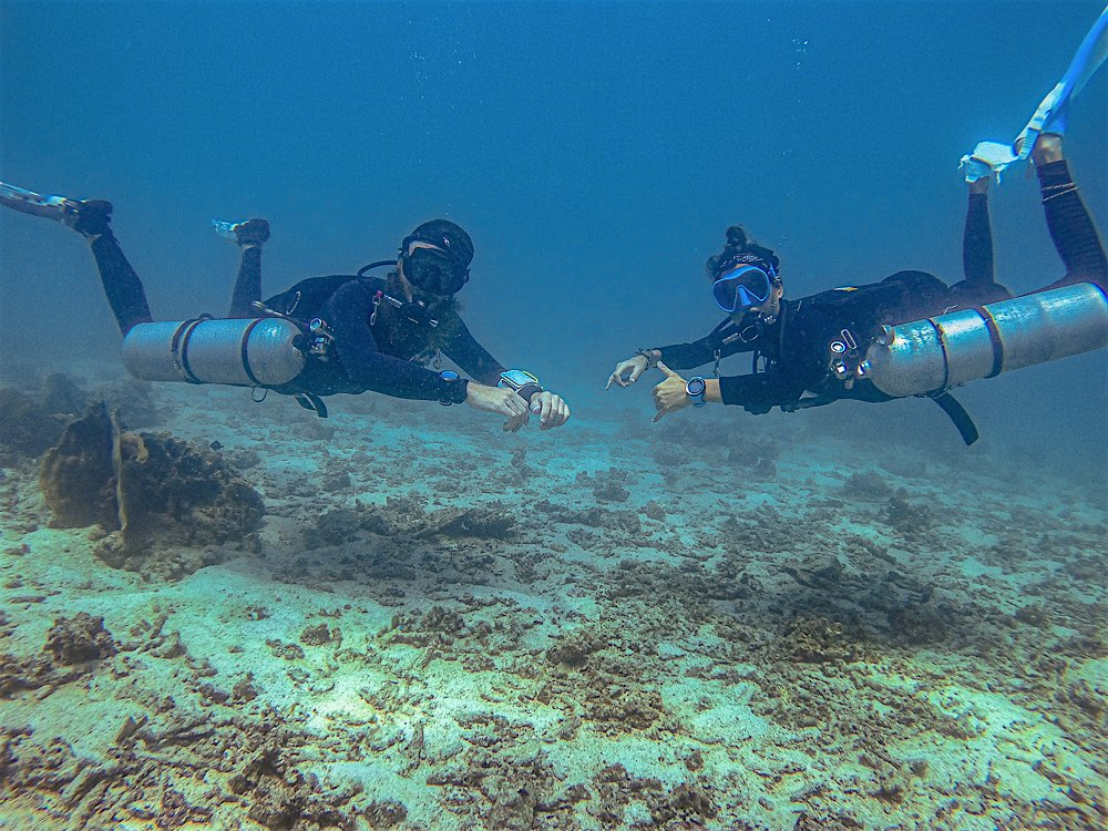 PADI Sidemount Diver Specialty course Koh Tao Thailand