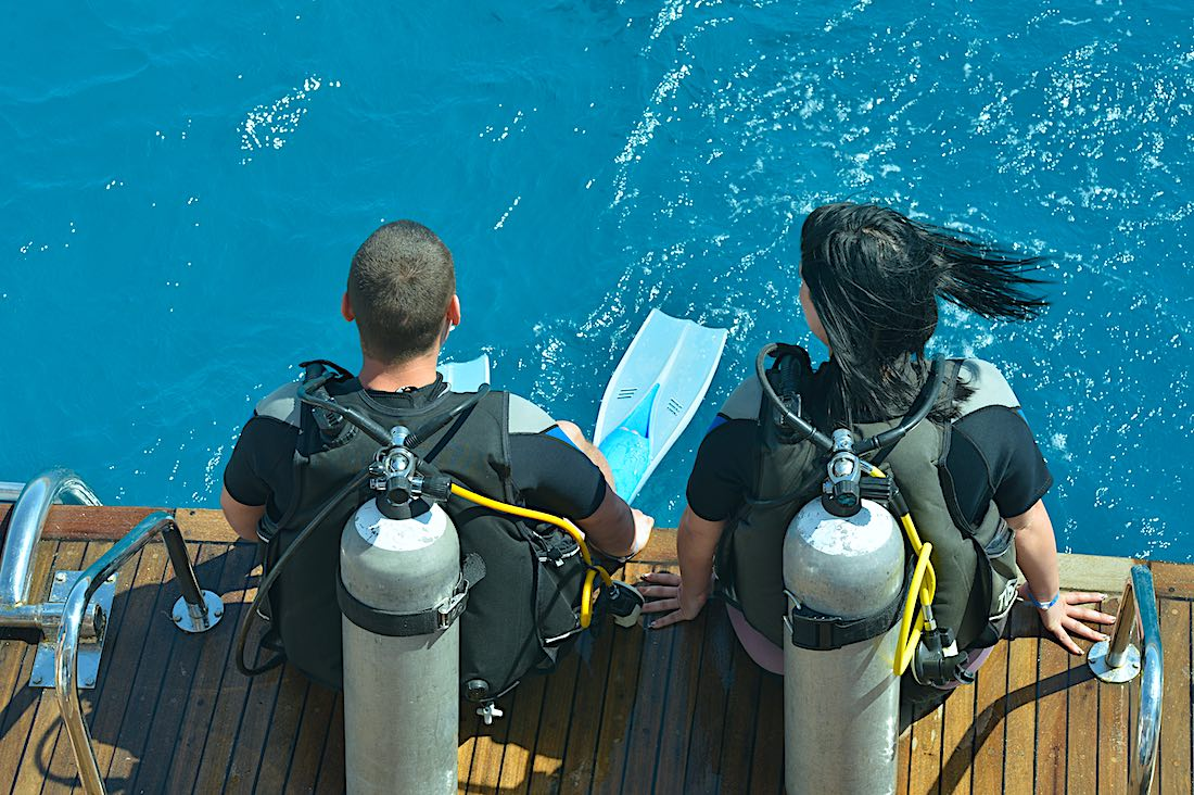 Reduce Covid Risk Scuba Diving - Outdoor Activity