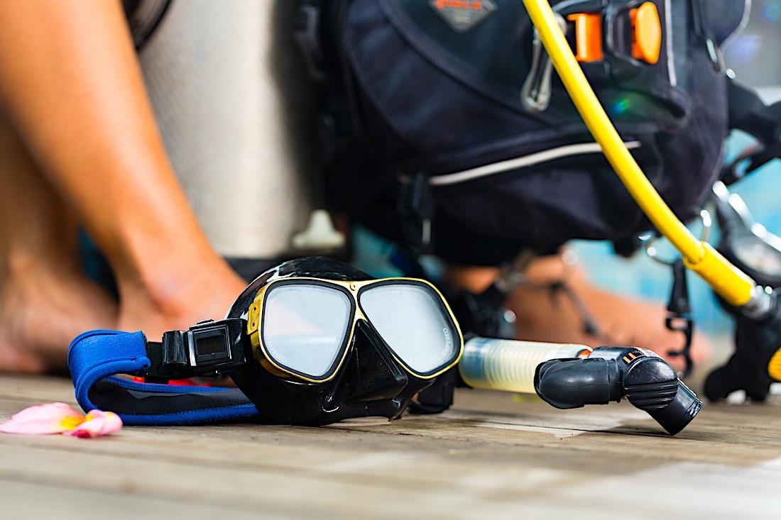 Reduce Covid Risk Scuba Diving Equipment