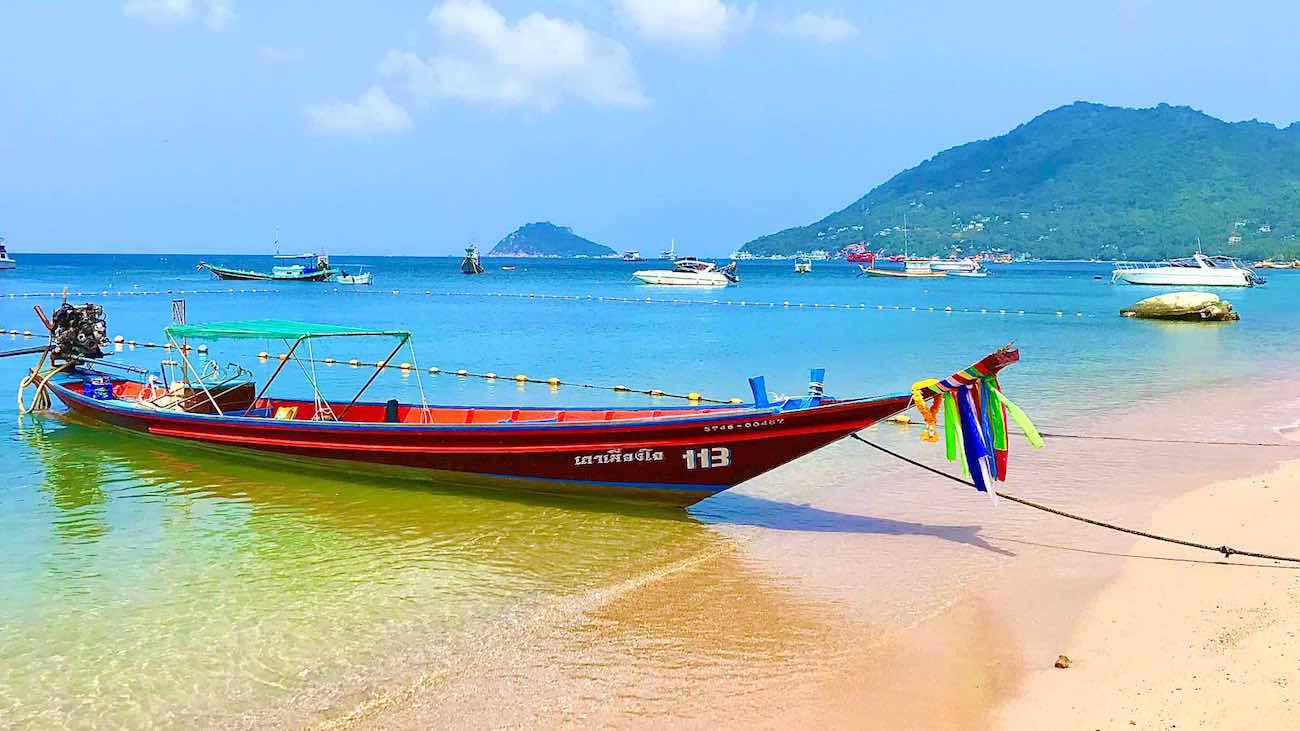 Mae Haad Beach North - Koh Tao
