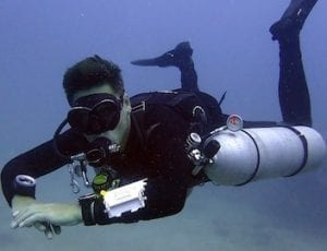 MSDT Instructor Specialty courses Koh Tao - Sidemount