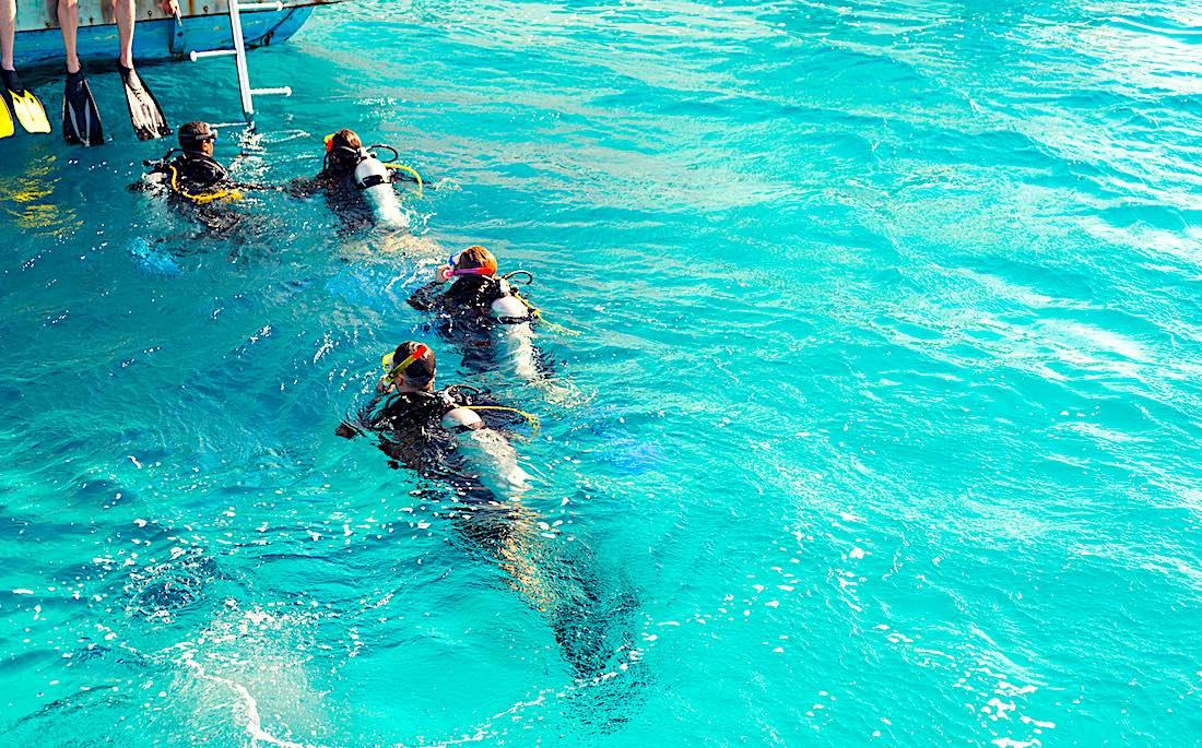 PADI Boat Diver Specialty course Koh Tao
