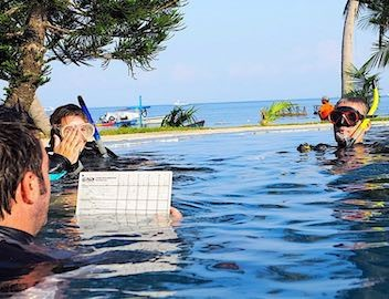 PADI Instructor Development course Koh Tao
