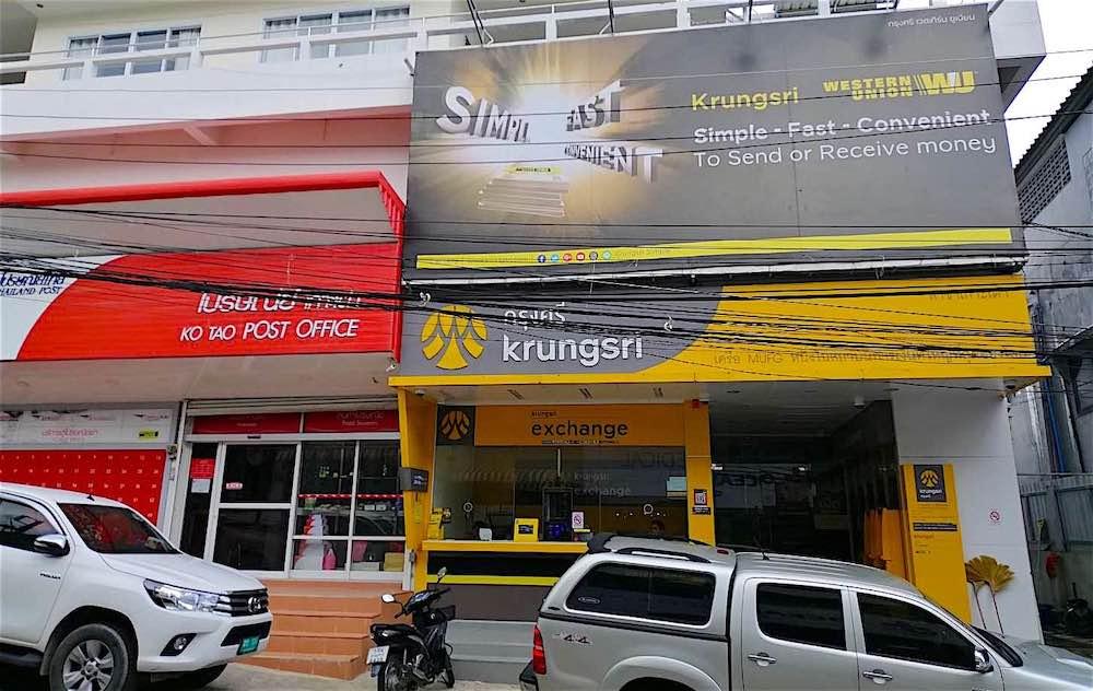 Krungsri Bank Koh Tao