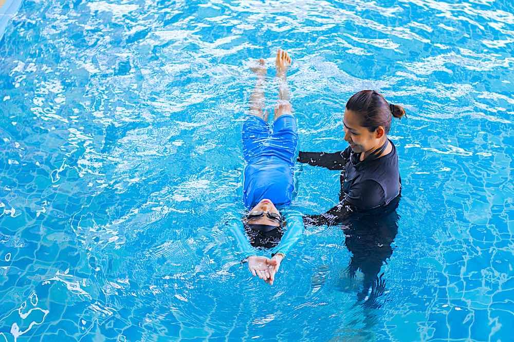 Learning to Swim Koh Tao