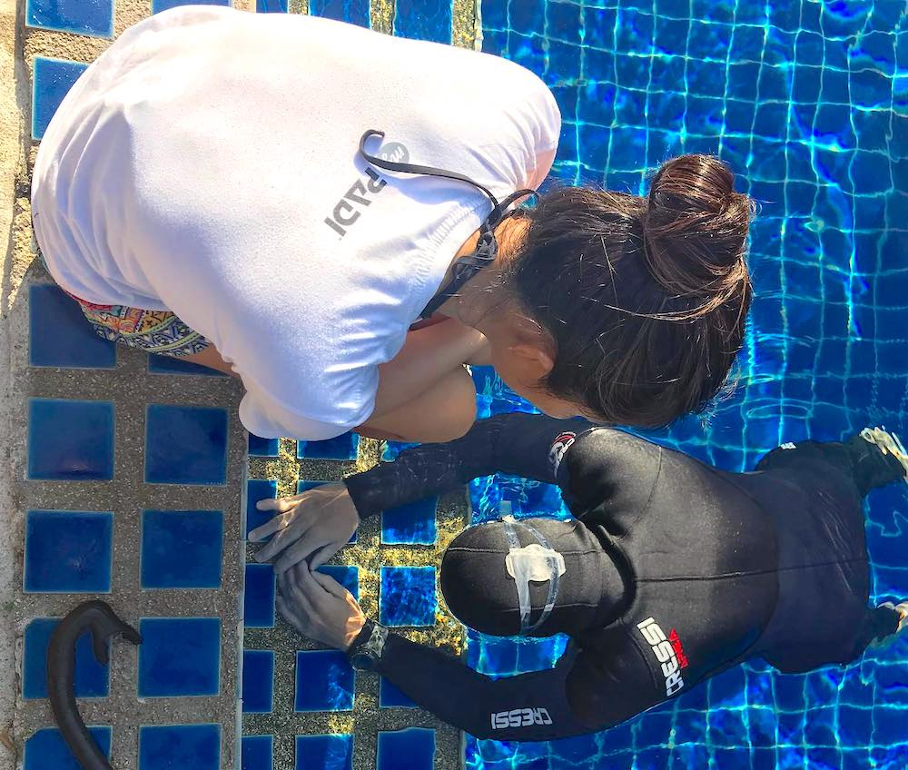 Learn to Freedive on Koh Tao
