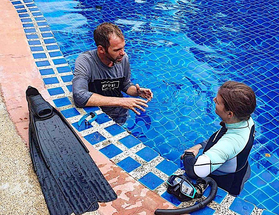 PADI Freediving Instructor Course Koh Tao