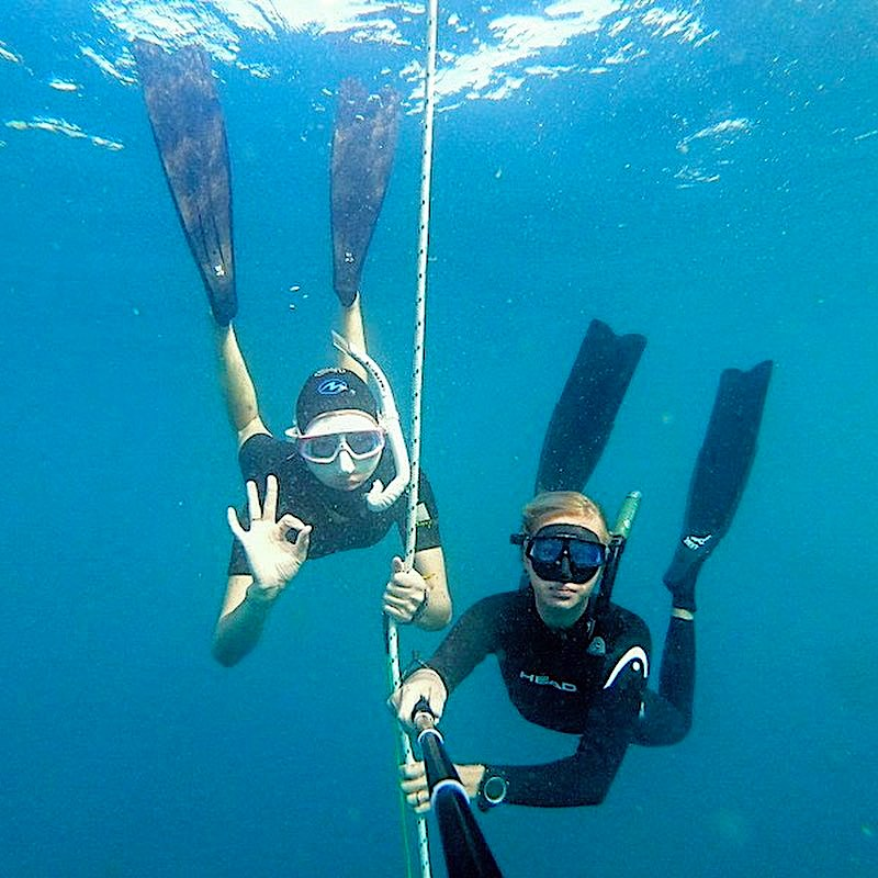 Learn to become a PADI Master Freediver