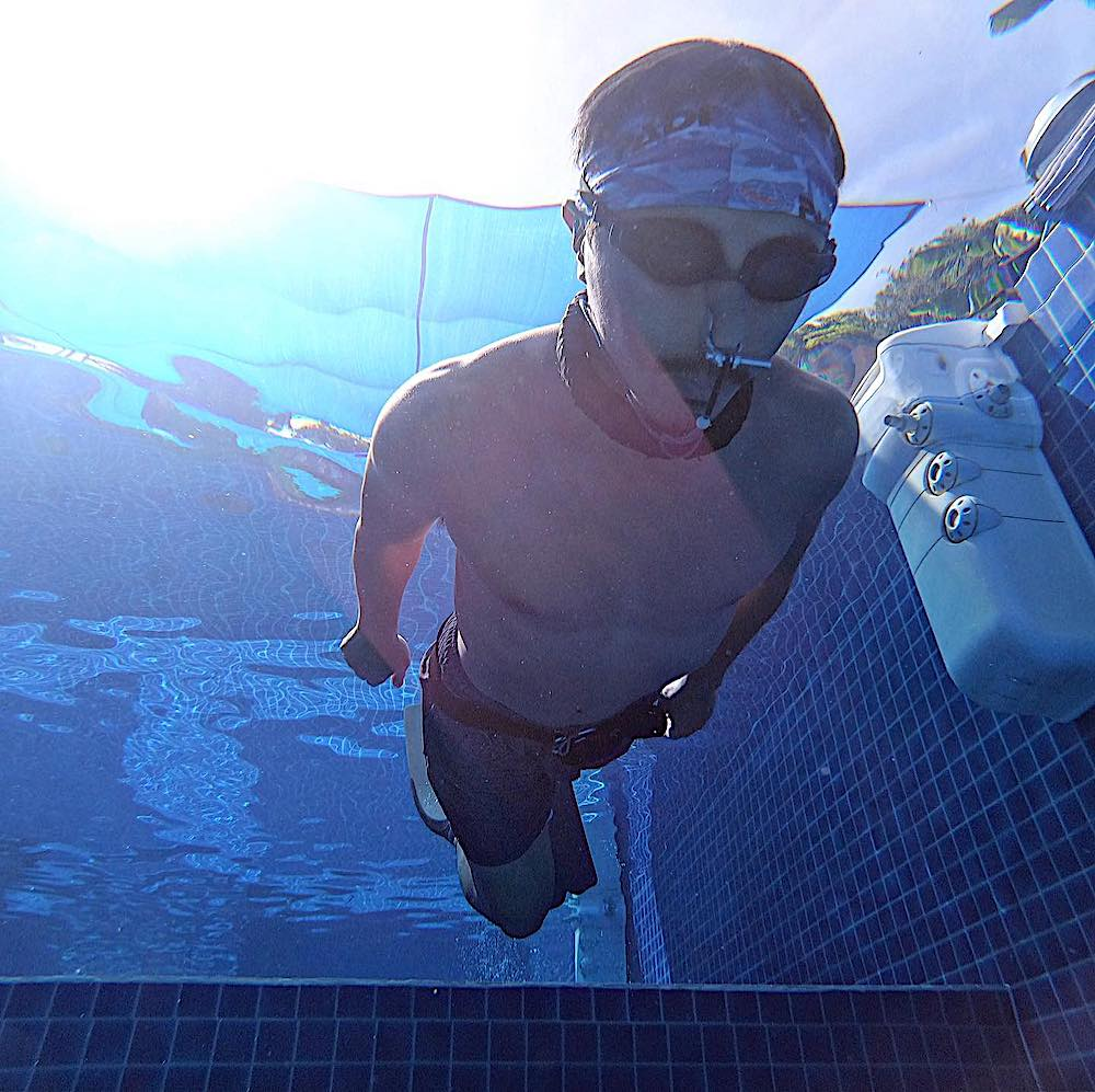 Learn to Streamline as a PADI Freediver