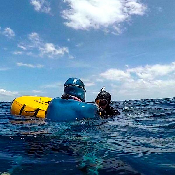 Freediving Instructor - Open Water training