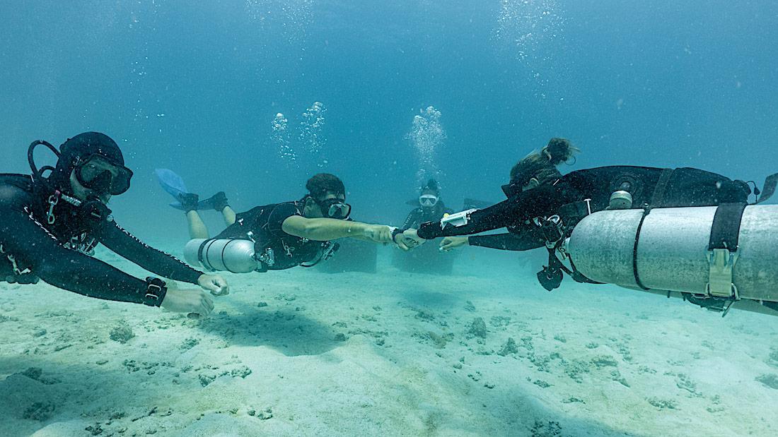 Sidemount Diver Training in Thailand