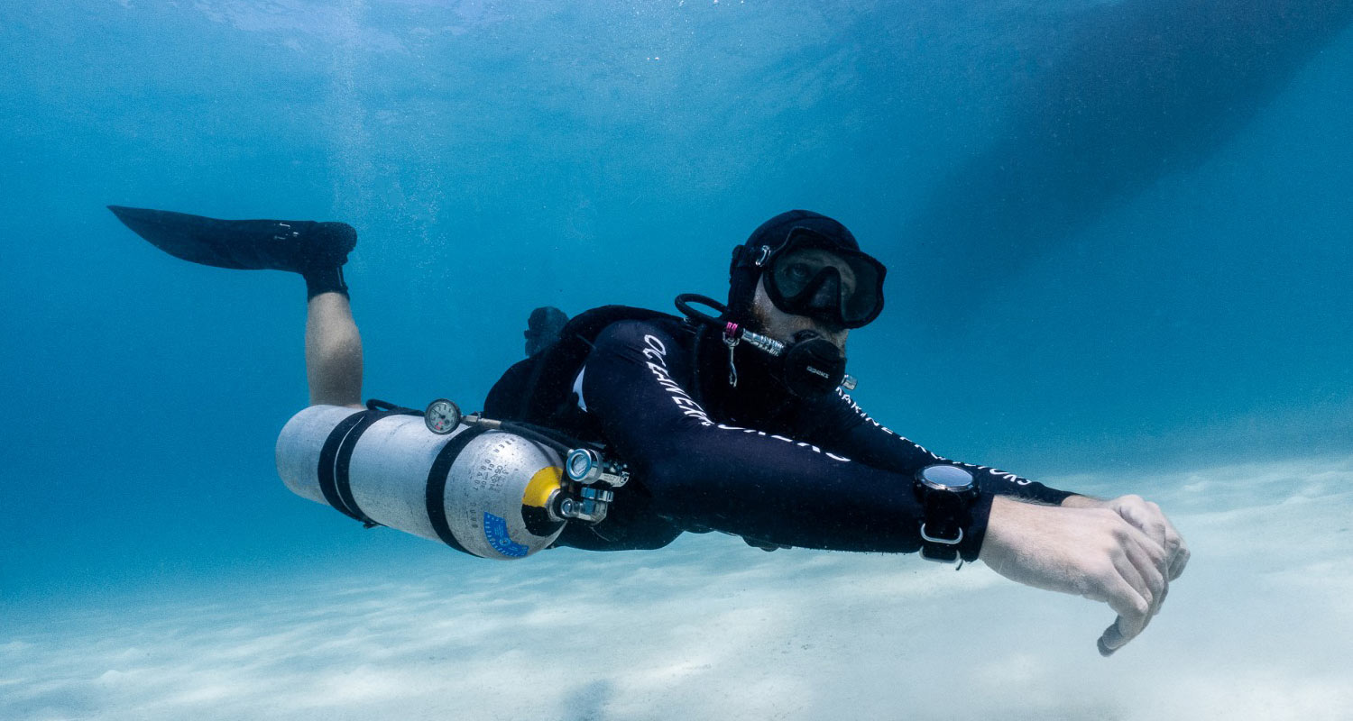 Sidemount Diving Courses in Koh Tao